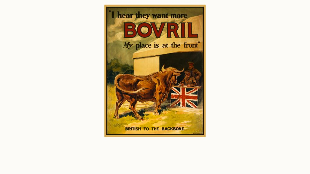 Bovril (winter warming drink)